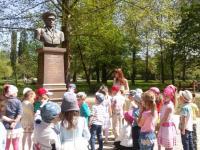 Экскурсия  к мемориальному комплексу в парке им. Гагарина.