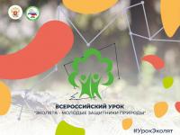"""Участие во Всероссийском уроке """"Эколята - молодые защитники природы"""""""